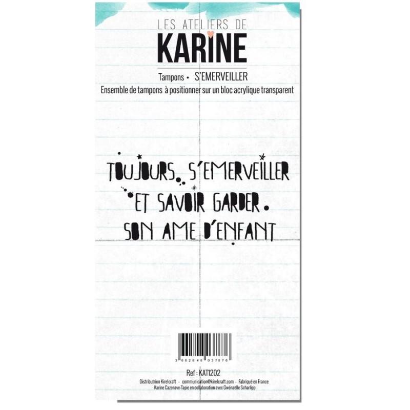 Tampons transparents Les Ateliers de Karine - S'émerveiller