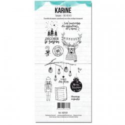 Tampons transparents Les Ateliers de Karine - Ho Ho Ho