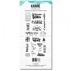 Tampons transparents Les Ateliers de Karine - La Carterie du Coeur