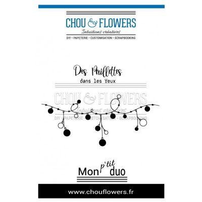 Tampons Chou & Flowers - Instants Magiques 2018 - Guirlande
