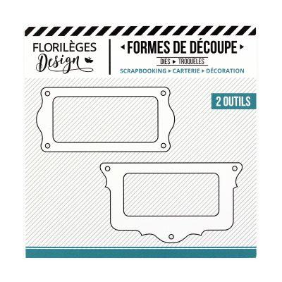Dies Sweety Cuts - Porte-étiquettes Festonnés