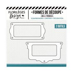 Dies Sweety Cuts - Capsules 2018 - Porte-étiquettes Festonnés
