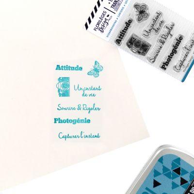 Tampons transparents Florilèges - Capsules 2018 - Photogénie