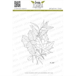 Tampons transparent Lesia Zgharda - Fall Leaves Bouquet (small)