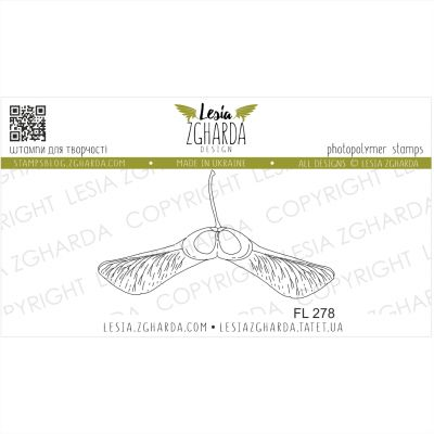 Tampons transparent Lesia Zgharda - Maple Sead