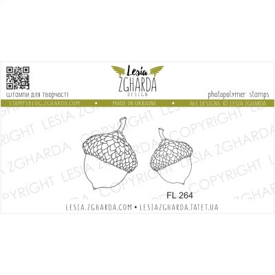 Tampons transparent Lesia Zgharda - Acorn