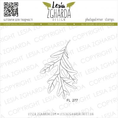 Tampons transparent Lesia Zgharda - Oak leaf