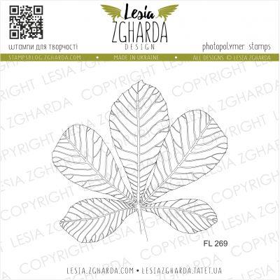 Tampons transparent Lesia Zgharda - Chestnut Leaf