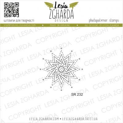 Tampons transparent Lesia Zgharda - Little Snowflake
