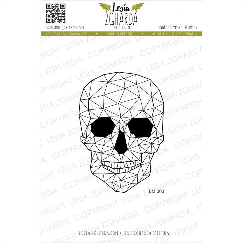 Tampons transparent Lesia Zgharda - Calavera (graphics)