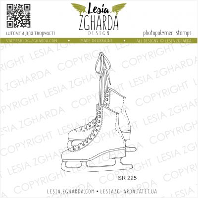Tampons transparent Lesia Zgharda - Skates