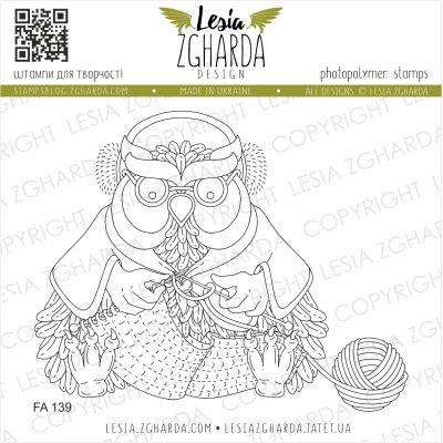 Tampons transparent Lesia Zgharda - Granny-Owl