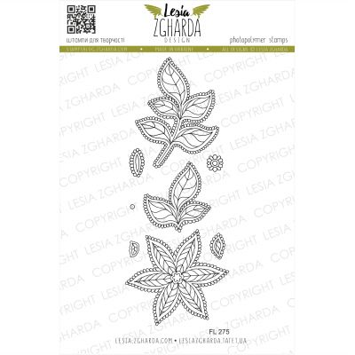 Tampons transparent Lesia Zgharda - Flor de Muerto