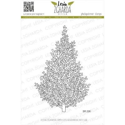 Tampons transparent Lesia Zgharda - Christmas Tree