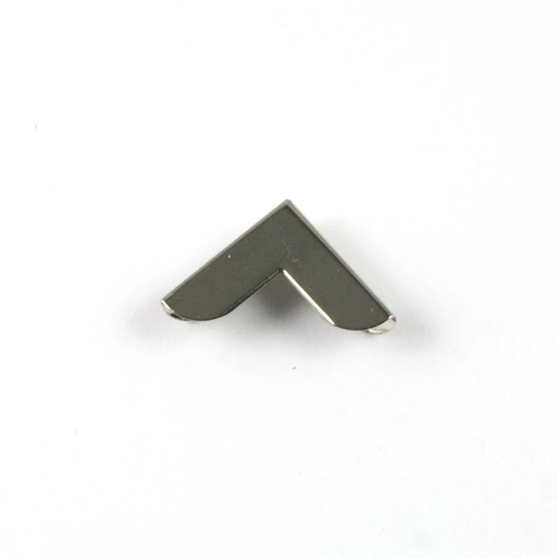 Coin métal argenté 19 mm à l'unité