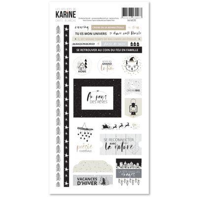Stickers Carte Blanche