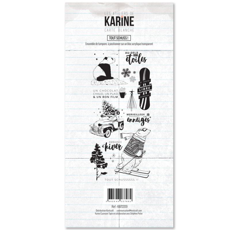 Tampons transparents Les Ateliers de Karine - Tout Schuss