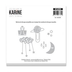 Die Les Ateliers de Karine - Collection Carte Blanche - Kit Astro