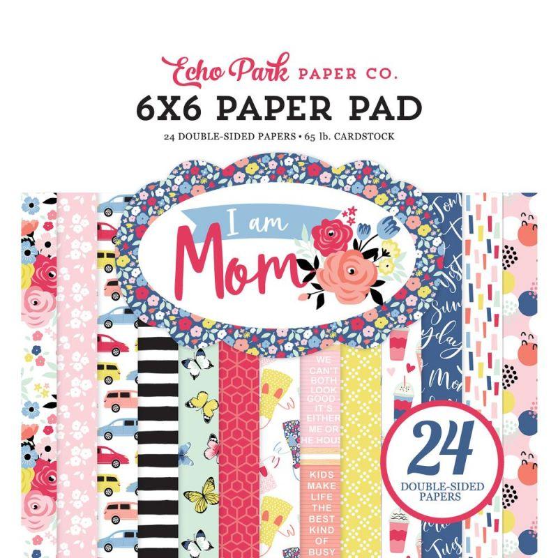 Mini Pack 15x15 - Echo Park - I am Mom