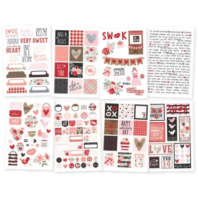Stickers Simple Stories - Kissing Booth