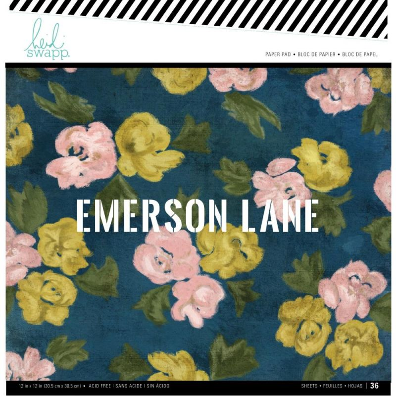 Pack 30x30 - Heidi Swapp - Emerson Lane