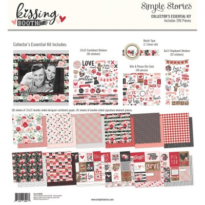 Kit collector 30x30 - Simple Stories - Kissing Booth