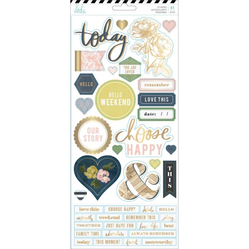 Stickers Heidi Swapp - Emerson Lane