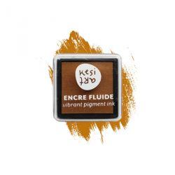 Encre fluide à pigment Kesi'Art - Moutarde