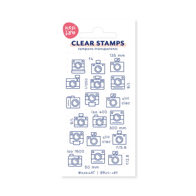 Tampons clear KesiArt - Photo