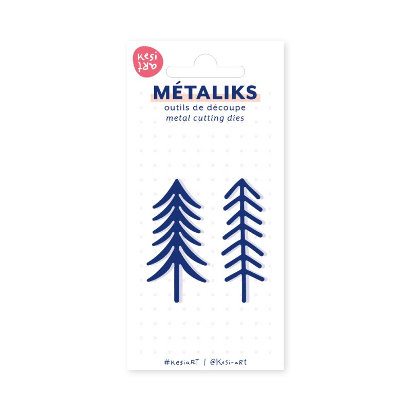 Dies MetaliKs - Mini - Sapins