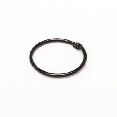 Anneau noir 4.4 cm