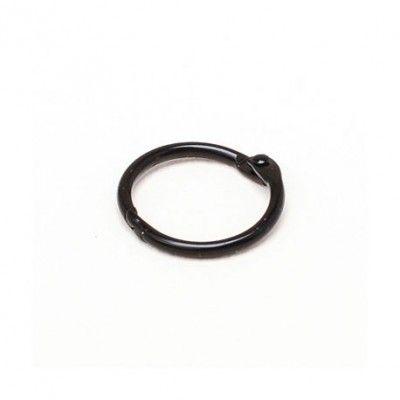 Anneau noir 3.2 cm