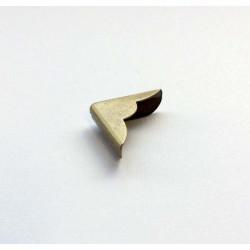 Coin métal bronze avec découpe 22 mm (à l'unité)