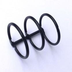Reliure 3 anneaux D30 Noir