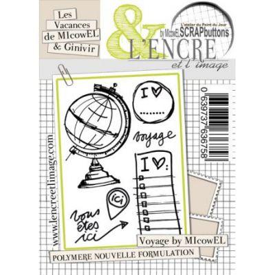 Tampons L'Encre & l'Image - Les Vacances de MIcowEL et GInivIR - Voyage by MIcowEL