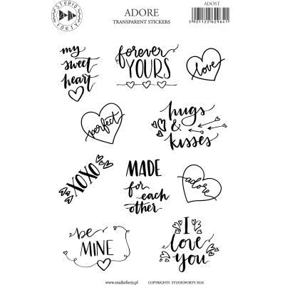 Stickers Studio Forty - Adore
