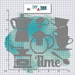 Dies DIY&Cie - Col.15 - Thé ou café ?