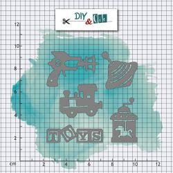 Dies DIY&Cie - Col.15 - Jouets anciens