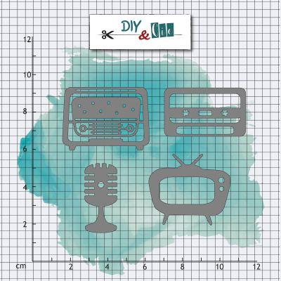 Dies DIY&Cie - Col.15 - Bullet 5 : rétro