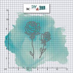 Dies DIY&Cie - Col.15 - Roses