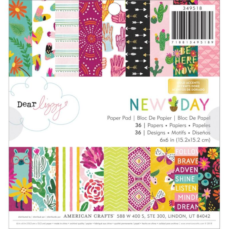 Mini Pack 15x15 - American Crafts - New Day