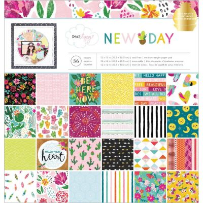 Pack 30x30 - American Crafts - Dear Lizzy- New Day