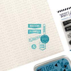 Tampons transparents Florilèges - Capsules 2019 - Paysages et montagnes