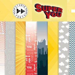 Pack 30x30 cm - Studio Forty - Super You