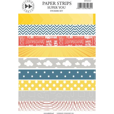 Stickers Studio Forty - Paper Strips Super You