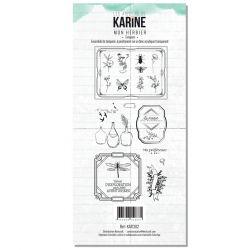 Tampons transparents Les Ateliers de Karine - Mon herbier