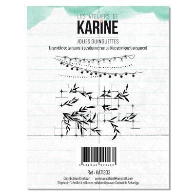 Tampons transparents Les Ateliers de Karine - Jolie Guinguette