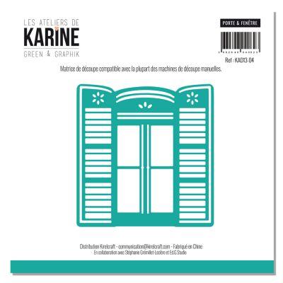 Die Les Ateliers de Karine - Collection Green & Graphik - Porte & Fenêtre
