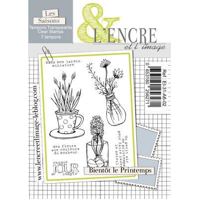Tampons L'Encre & l'Image - Les Saisons - Bientôt le Printemps