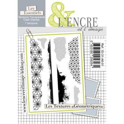 Tampons L'Encre & l'Image - Les Essentiels - Les Textures Géométriques